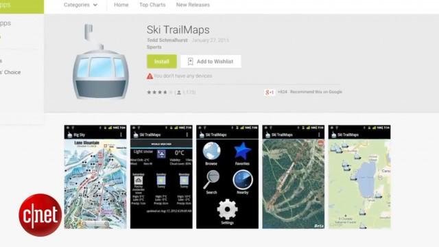 اپلیکشن ورزش های زمستانی برای اسکی بازها