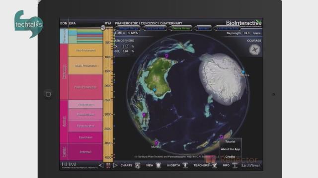 با Earthviewer گذشته و آینده زمین را کاوش کنید!