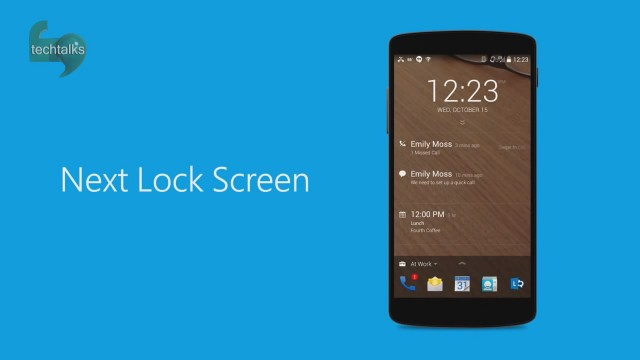 Next Lock Screen اپلیکیشنی برای قفل کردن صفحه نمایش