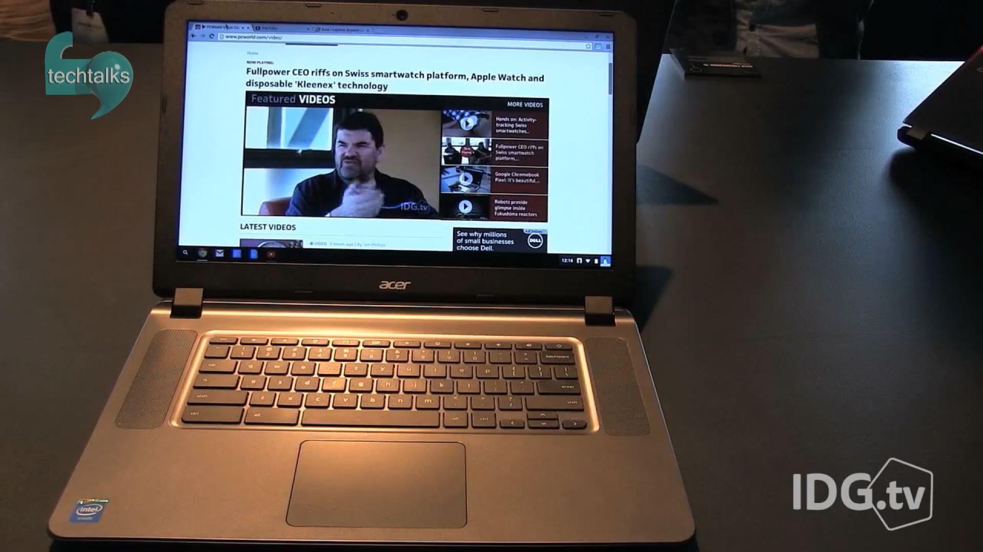 تک تاکس - ایسر یک جفت لپ تاپ با ویندوز 10 معرفی کرد - Techtalks.ir