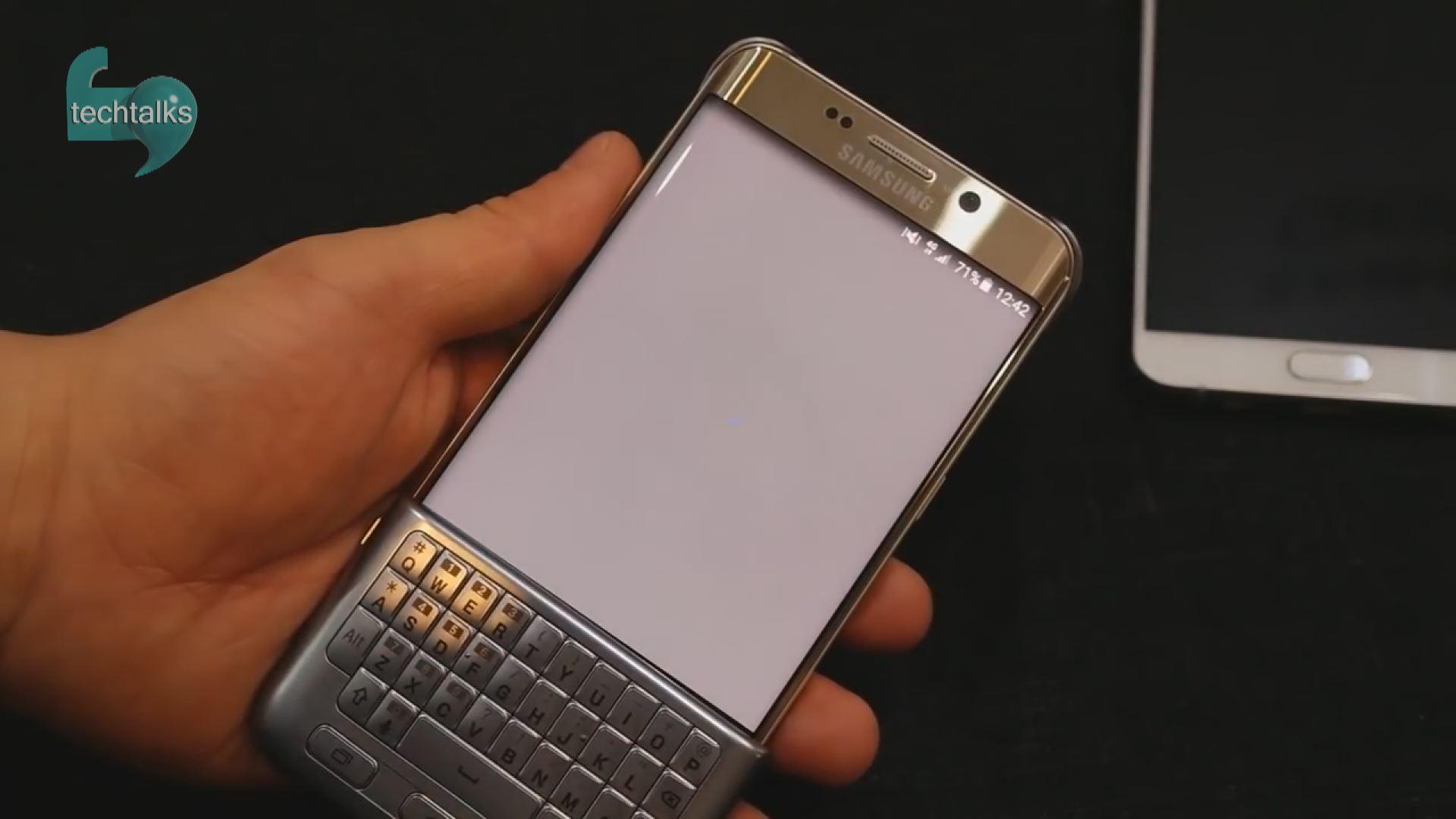 دانلود کیبورد سامسونگ s7 آیا سامسونگ واقعا یک قاب کیبورد دار برای Galaxy S6 Edge ...