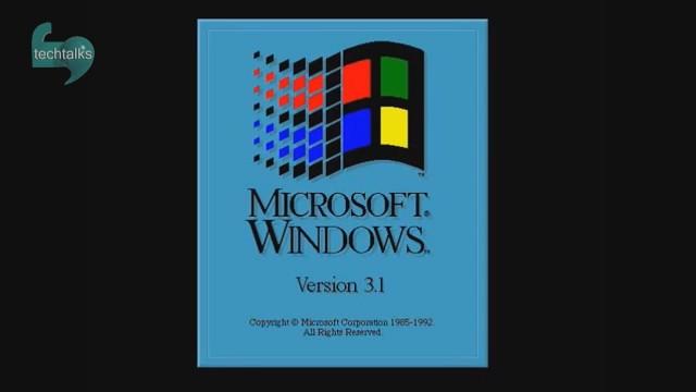 شجره نامه ویندوز از نسخه یک تا ۱۰ در تصویر چند ثانیه ای خلاصه می شود
