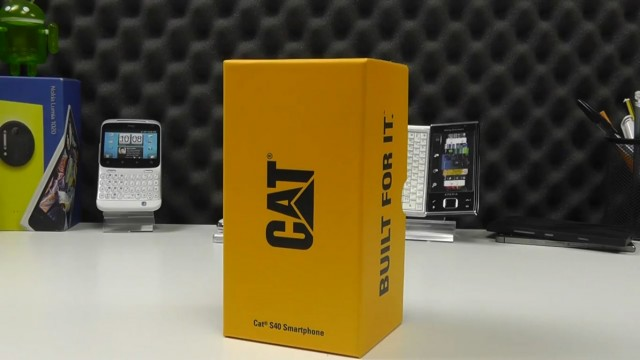 جعبهگشایی گوشی کت اس۴۰ – Cat S40