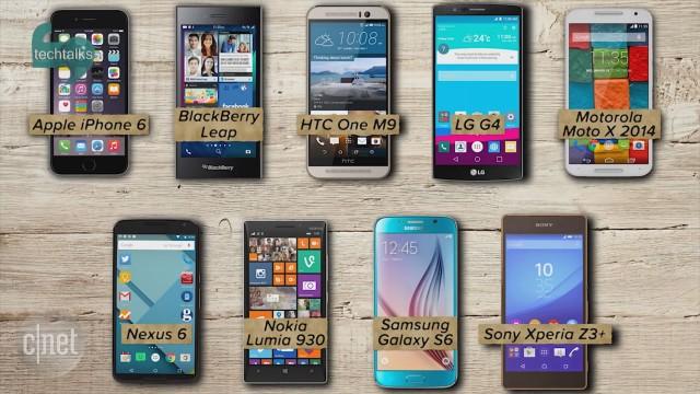 ۱۰ تلفن هوشمند برتر ۲۰۱۵