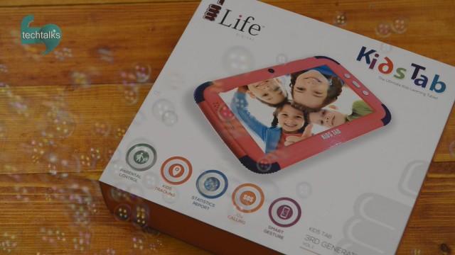 اولین نگاه تک تاکز به KidsTab تبلت ویژه کودکان
