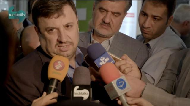 کنفرانس خبری دبیر شورای عالی فضای مجازی در حاشیه تلکام ۲۰۱۵