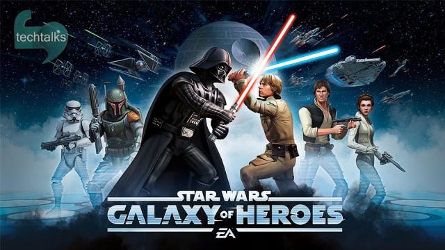 اولین نگاه به بازی موبایل Star Wars :Galaxy of Heroes