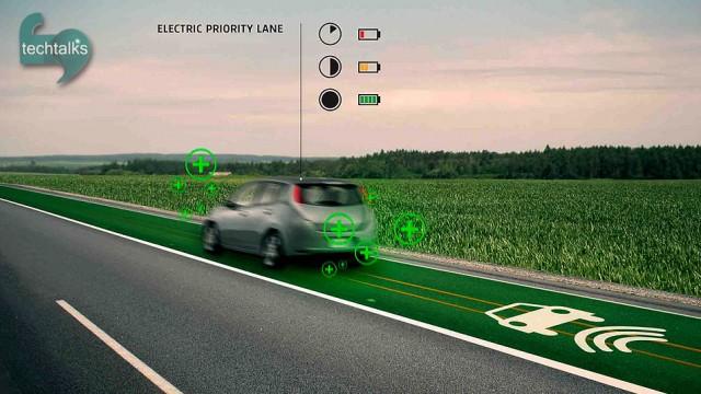 جادههایی که خودروها را شارژ می کنند