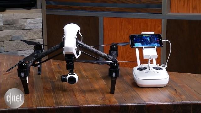 بررسی پهپاد دیجیآی اینسپایر ۱: پهپاد دوربیندار فوقالعاده اما گران