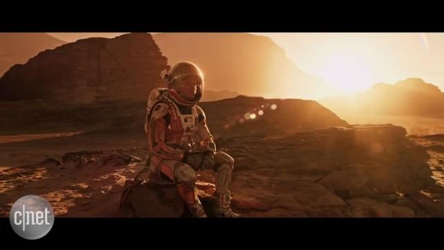 مت دیمون از تجربهاش در نقش اصلی فیلم مریخی میگوید