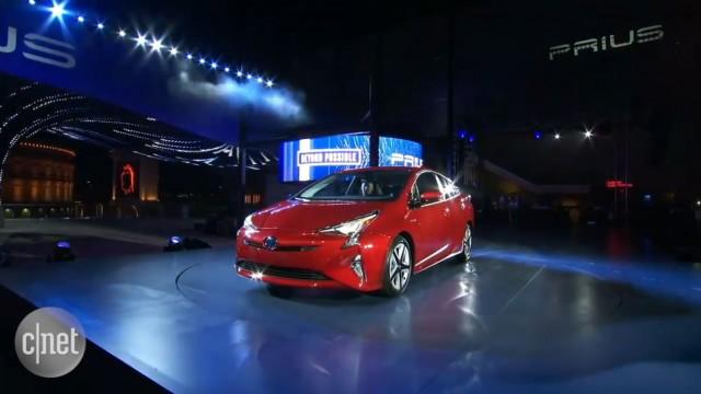 کمپانی تویوتا از مدل  ۲۰۱۶ Prius  پرده برداری کرد