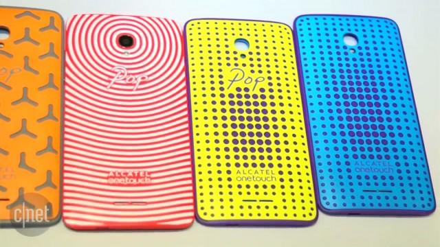 گوشیهای جدید رنگارنگ و قابل شخصیسازی آلکاتل وانتاچ پاپاستار و وانتاچ پاپ آپ