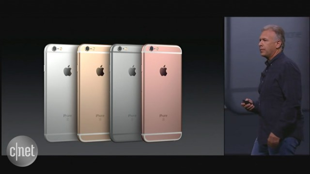 کنفرانس اپل: آی فون ۶ اس و آس فون ۶ اس پلاس معرفی شدند