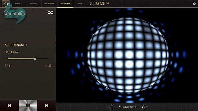 ایکولایزر + ام پی تری پلیر Equalizer + MP3 Player برای اندروید