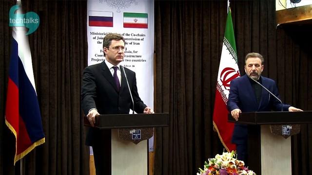 امضای تفاهم همکاری وزیر ارتباطات ایران با وزیر انرژی روسیه