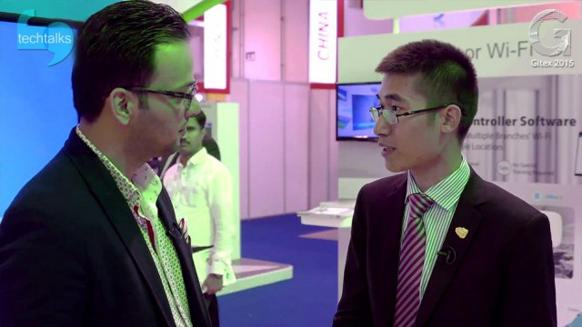 مصاحبه با Lawrence Lu مدیر منطقه ای TP-LINK در جیتکس ۲۰۱۵