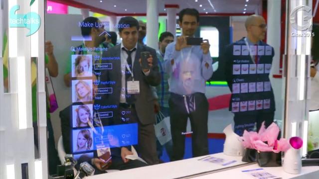 ورود به دنیای واقعیت افزوده با آینه های هوشمند پاناسونیک