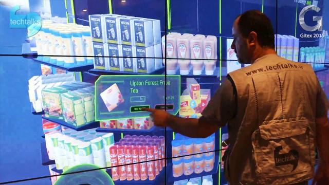 شهر هوشمند در غرفه اتصالات دبی – جیتکس ۲۰۱۵