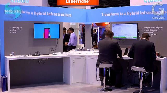 HP هم با آخرین محصولات و راهکارهای فناوری اش به جیتکس ۲۰۱۵ آمد