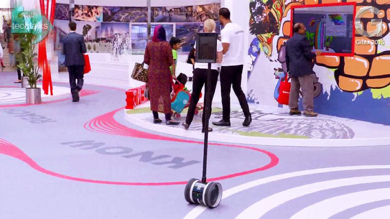 تک تاکس - ربات ها در جیتکس 2015 یکه تازی کردند - techtalks.ir