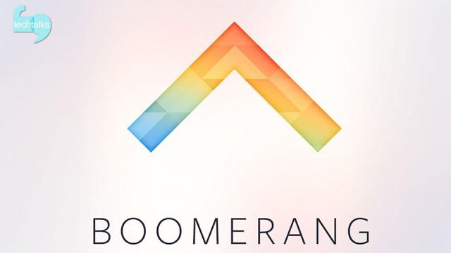 معرفی اپلیکیشن Boomerang