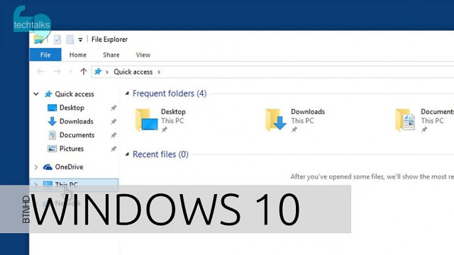 تغییر صفحهی پیشفرض مرورگر فایل در ویندوز ۱۰