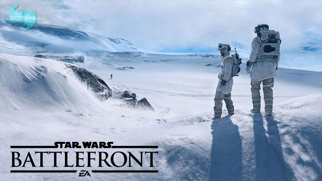 بازی Star Wars: Battlefront منتشر شد