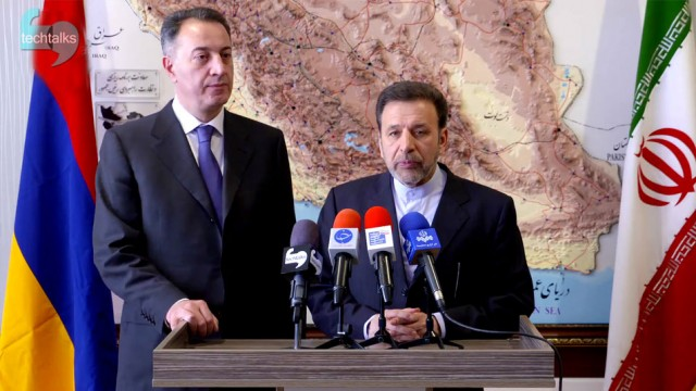 نشست مشترک وزیر ICT ایران با وزیر انرژی ارمنستان