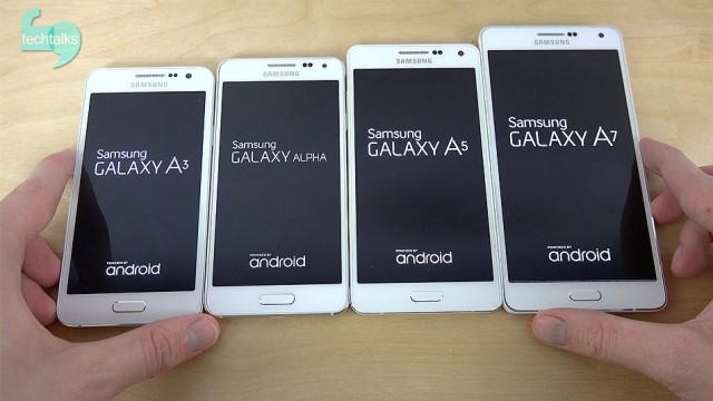 تصاویر نسل دوم اسمارت فون های Galaxy A5 و Galaxy A7لو رفت