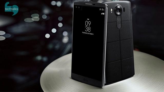 موبایل LG V10 با دو نمایشگر