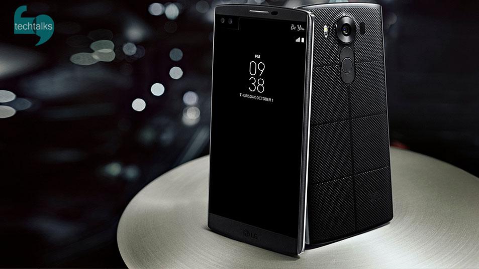 تک تاکس – موبایل LG V10 با دو نمایشگر – techtalks.ir