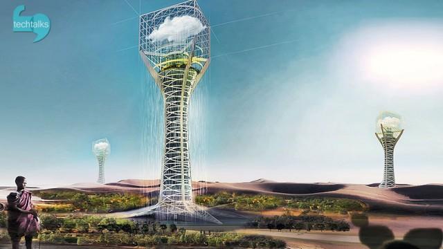 برج پرورش ابر هم ساخته می شود