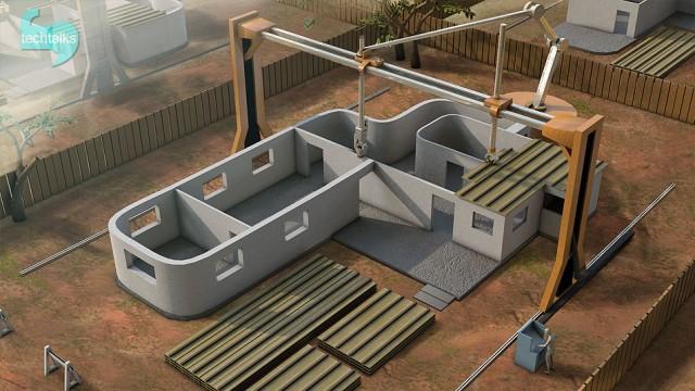 یک خانه ی ۲۰۰ متری را ۲۴ ساعته بسازید!