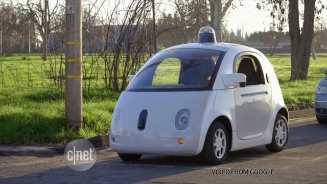 بهروزرسانی: پلیس خودروی گوگل را متوقف کرد