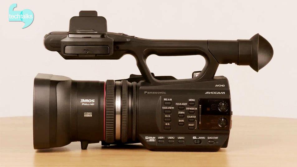 تک تاکس - دوربین پاناسونیک AG-AC90 در کادر بسته - techtalks.ir