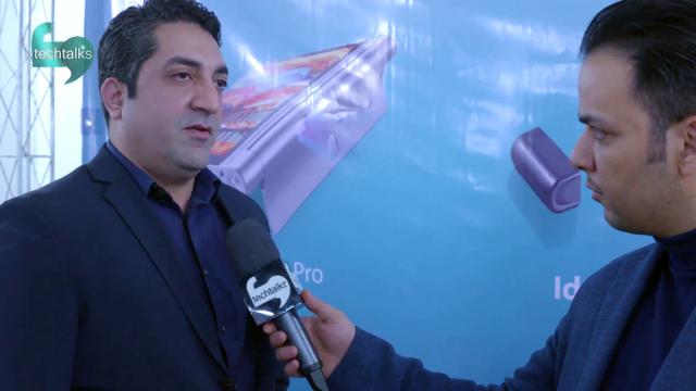 احسان بیات – مدیرعامل شرکت آوات و محسن مقدم مدیر خدمات پس از فروش آوات