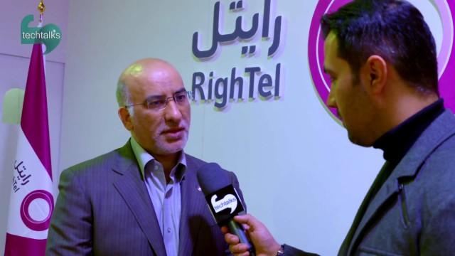 مجید صدری – مدیرعامل رایتل : تاپایان سال به ۷ میلیون مشترک می رسیم