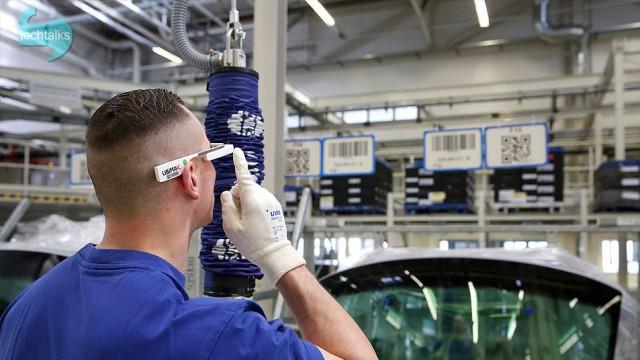 استفاده کارگران  فولکس واگن از عینکهای هوشمند