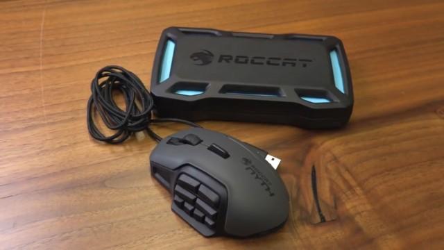 بررسی موشواره بازی نیت محصول روکات (Roccat Nyth)