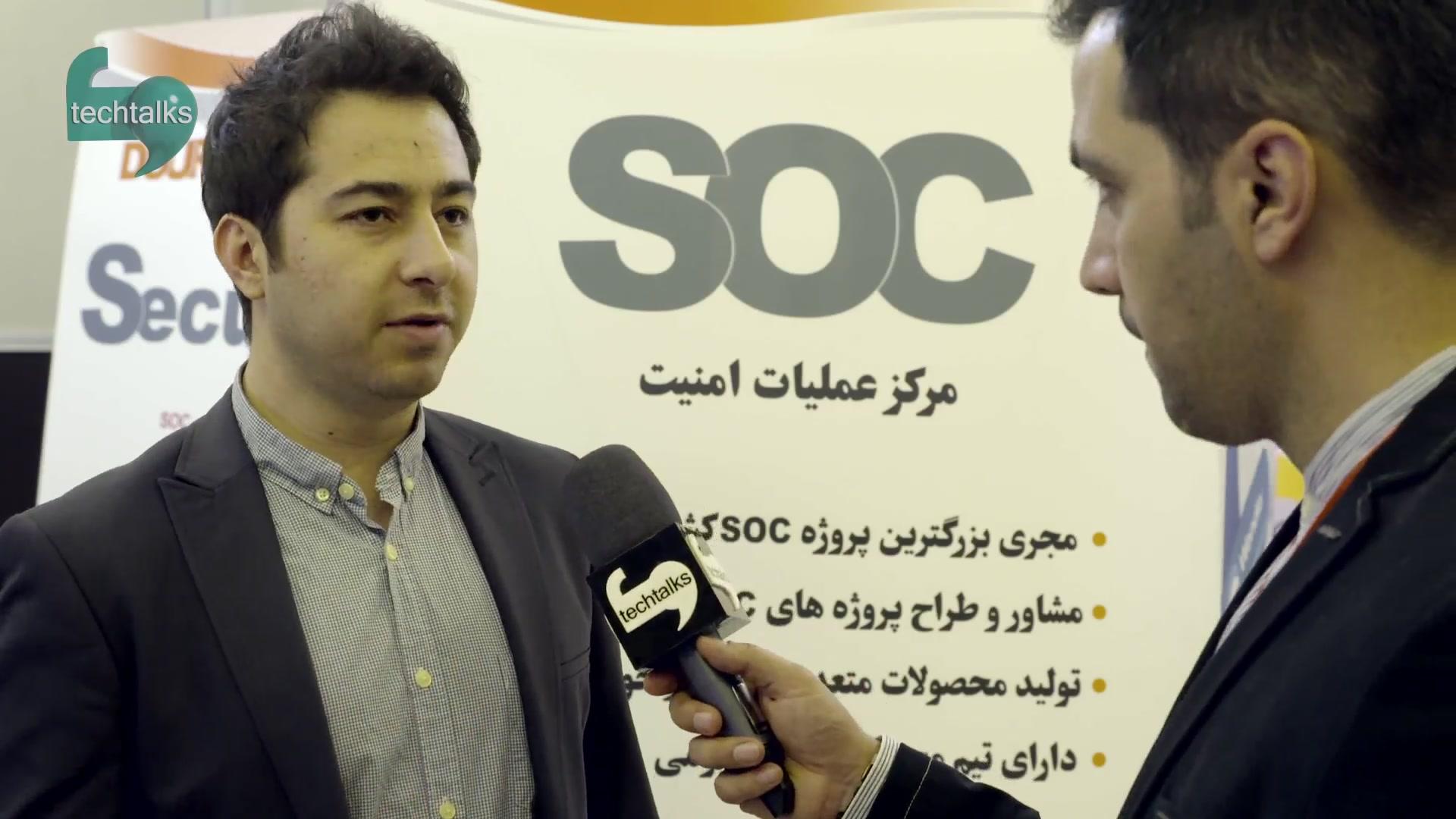 تک تاکس - مصاحبه با علی عبدی - مدیر روابط عمومی دوران - techtalks.ir