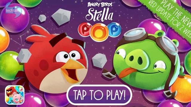 تک تاکس - Angry Birds Stella Pop دومین بازی موبایلی محبوب - techtalks.ir