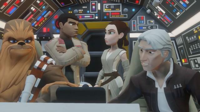 مجموعه بازی «فورس بر میخیزد» دیزنی اینفینیتی (Disney Infinity 3.0 The Force Awakens Playset)