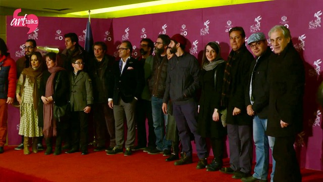 جواد یحیوی میزبان آرتتاکس با فیلم برادرم خسرو روی رد کارپت