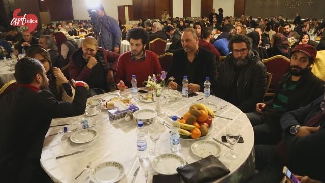 گزارش اختصاصی آرتتاکس از شب نامزدهای سیمرغ فجر ۳۴ در هتل لاله