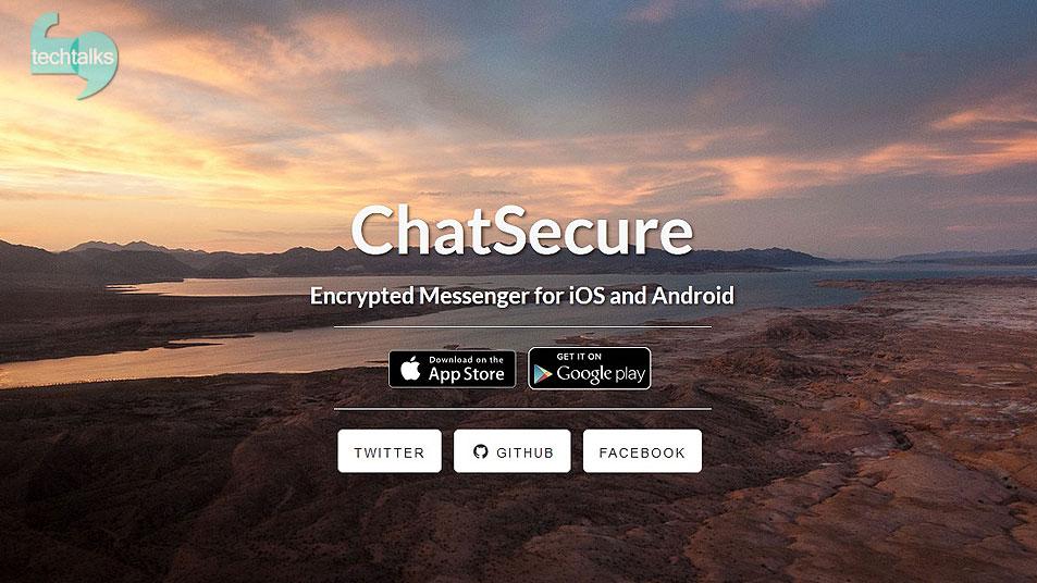 تک تاکس - با ChatSecure به فیسبوک و جیمیل دسترسی دارید - techtalks.ir
