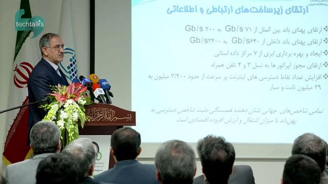 نصرالله جهانگرد – معاون وزیر و رئیس سازمان فناوری اطلاعات ایران