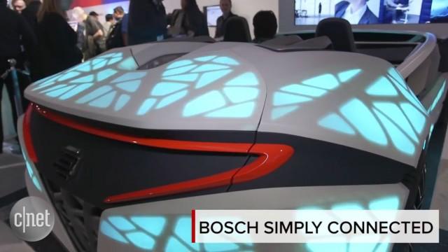 فنآوری جدید خودرهای متصل به شبکه توسط کمپانی بوش (Bosch Simply Connected Car)