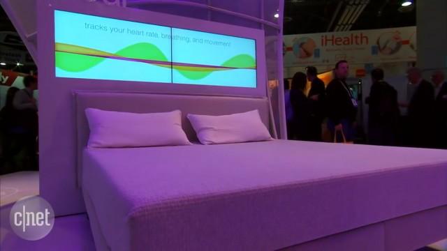 خواب هوشمند با تشکهای متصل به شبکه اسلیپ نامبر (Sleep Number It Bed)