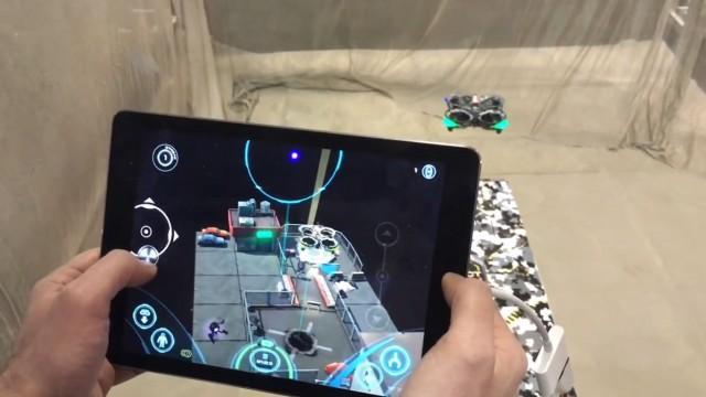 ویدئوی آزمایش اپ ایرهاگز کانکت محصول اسپین مستر (Spin Master Air Hogs Connect)