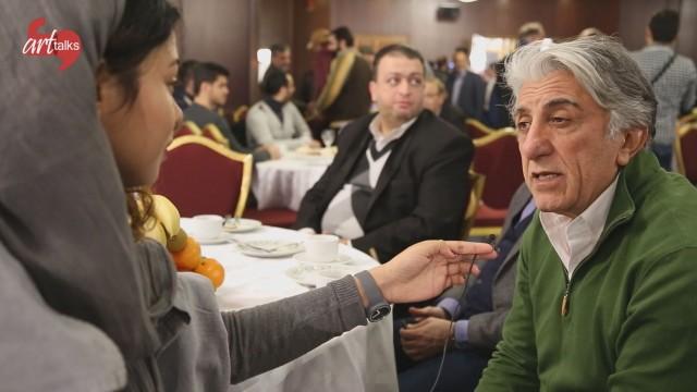 شبانه: گفتوگوی مارال دوستی با رضا کیانیان نامزد بهترین بازیگر مرد فجر ۳۴